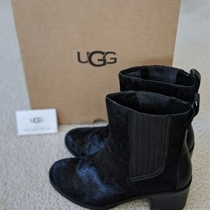 Ugg Camden Exotic Black Boots